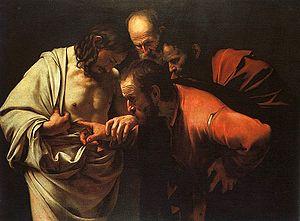 Caravaggio St. Thomas