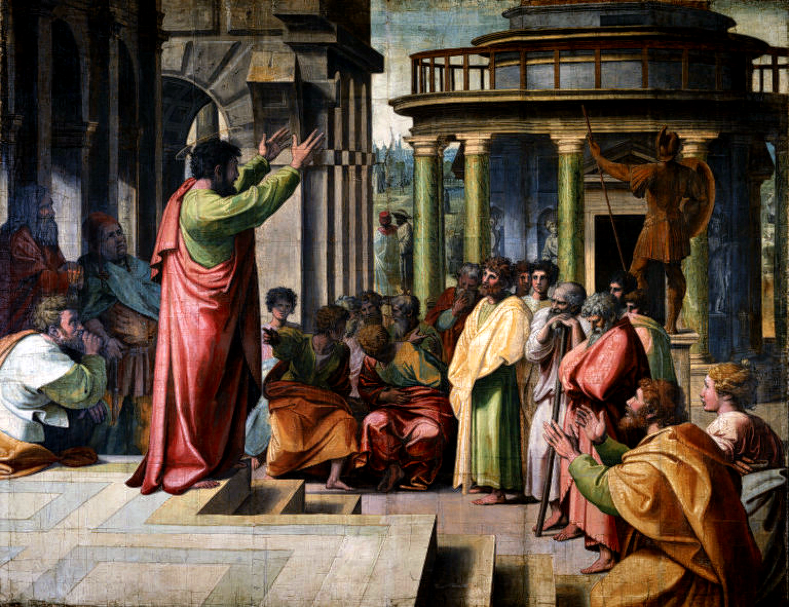 Raphael - Paul Preaching in Athens